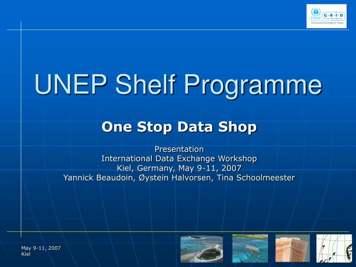 unep shelf programme n.