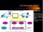 architecture osgi