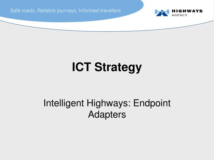 ict strategy n.