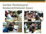 gambar pembelajaran kolaboratif sekolah dasar