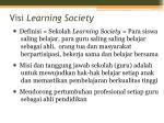 visi learning society