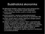 buddhistick ekonomika
