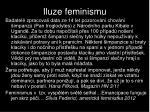 iluze feminismu
