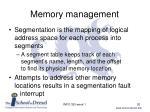 memory management3