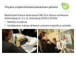 yritysten ymp rist tiedotuskeskuksen palvelut4
