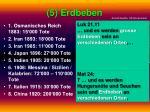 5 erdbeben