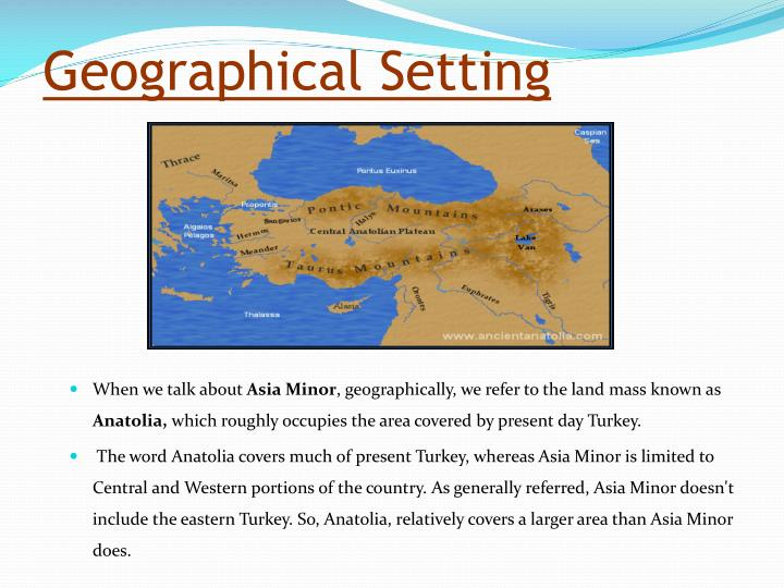 Geographical setting