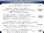 2 asp asynchronous sequential processes