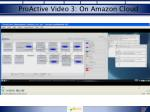 proactive video 3 on amazon cloud