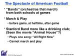 the spectacle of american football1