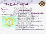the eight fold path
