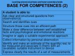 learning science at primary and lower secondary levels base for competences 2