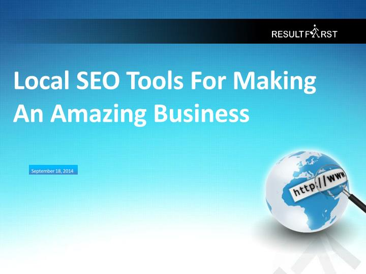 local seo tools for making an amazing business n.