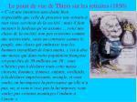le point de vue de thiers sur les retraites 1850