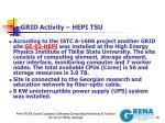 grid activity hepi tsu
