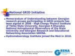 national grid initiative