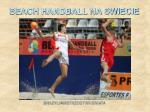 beach handball na swiecie