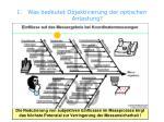 1 was bedeutet objektivierung der optischen antastung