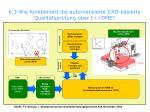 6 3 wie funktioniert die automatisierte cad basierte qualit tspr fung ber i dme