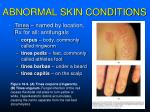 abnormal skin conditions1