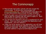 the commonapp