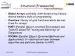 structural frameworks
