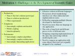 motivation 1 challenges in the development of scientific codes