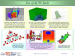 use of acts tools