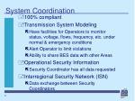 system coordination