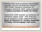 eesti koht inimarengu j rjestuses