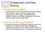collaboration and data sharing