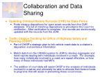 collaboration and data sharing1