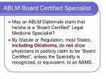 ablm board certified specialist1