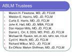 ablm trustees