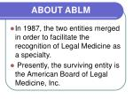 about ablm1