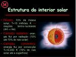 estrutura do interior solar