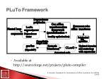 pluto framework