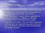 inpatient units