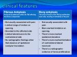 clinical features3