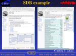 sdb example