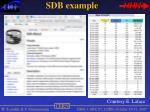sdb example1