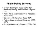 public policy services