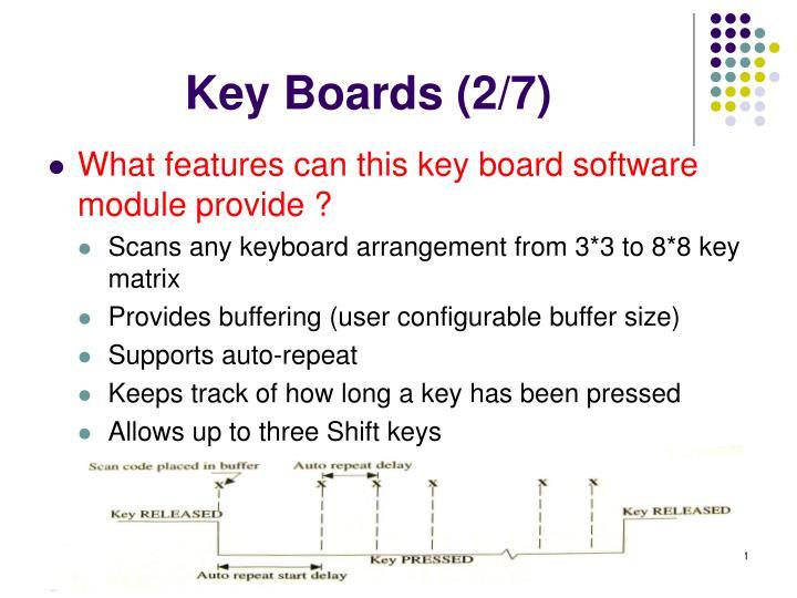 Key Boards (2/7)
