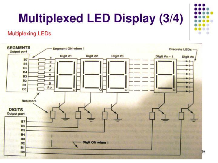 Multiplexed LED Display (3/4)