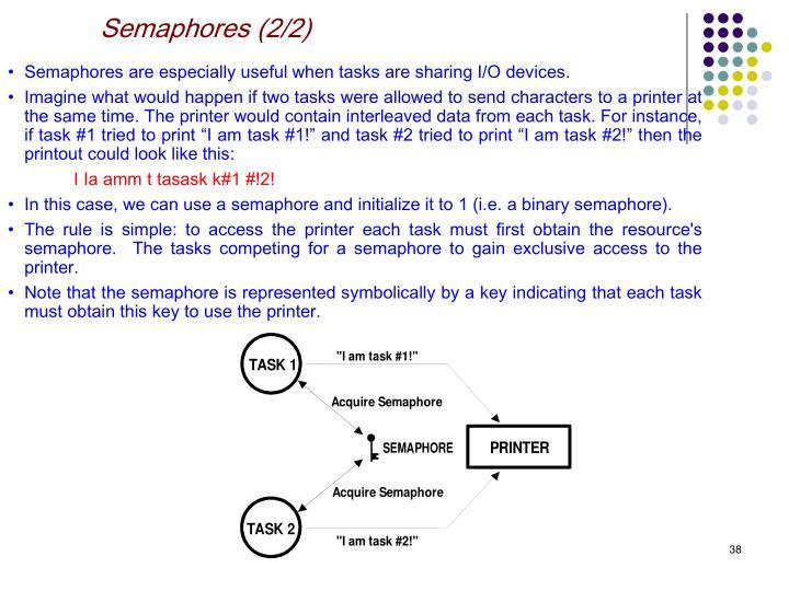 Semaphores (2/2)