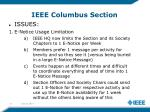 ieee columbus section8