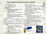 hyperspectral infrared imager hyspiri