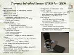 thermal infrared sensor tirs for ldcm
