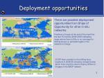 deployment opportunities