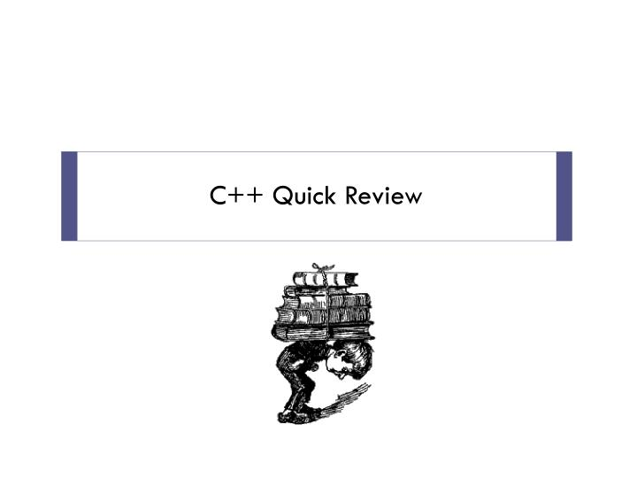 c quick review n.